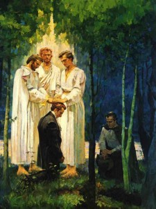 Peter James and John Mormon Priesthood