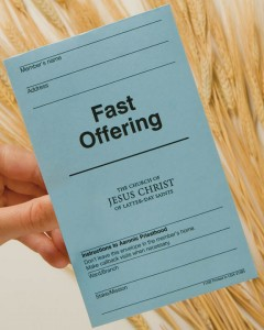 mormon fast offering