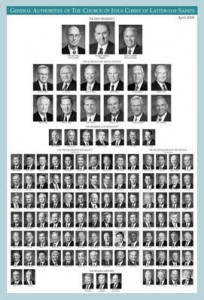 mormon general authority chart
